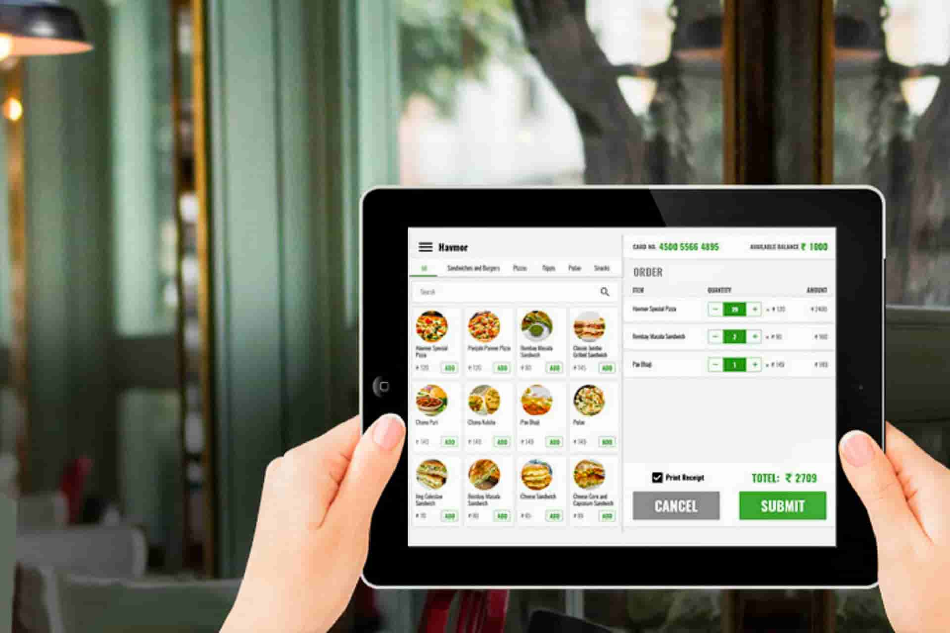 Fajira online food ordering system